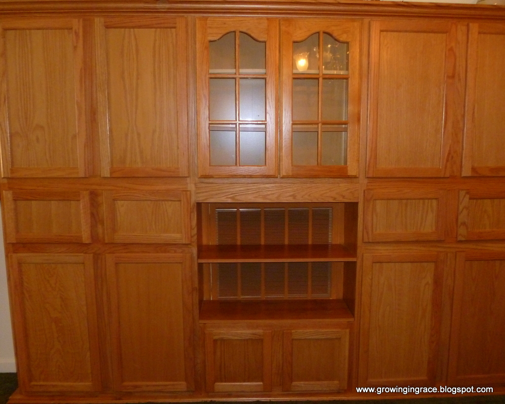 Growing In Grace Diy China Cabinet