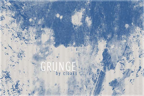 grunge by cloaks d2kab07 30 Must Have Grunge Photoshop Brushes Collection Set