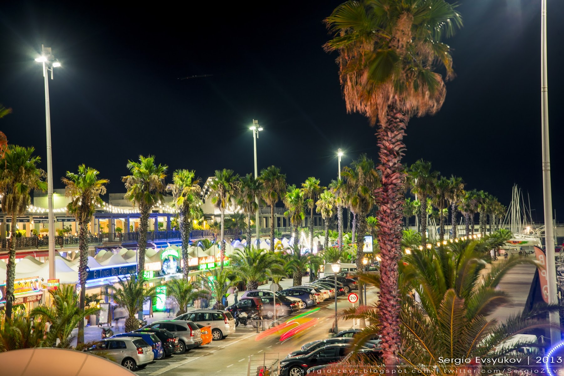 Port Olimpic noche