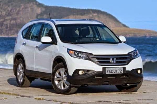 Novo Honda Cr-v 2014 fotos preço consumo