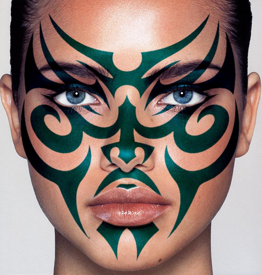 Tatouage Tribal Banque D'Images Et Photos Libres De Droits - tatouage tribal dans le cou
