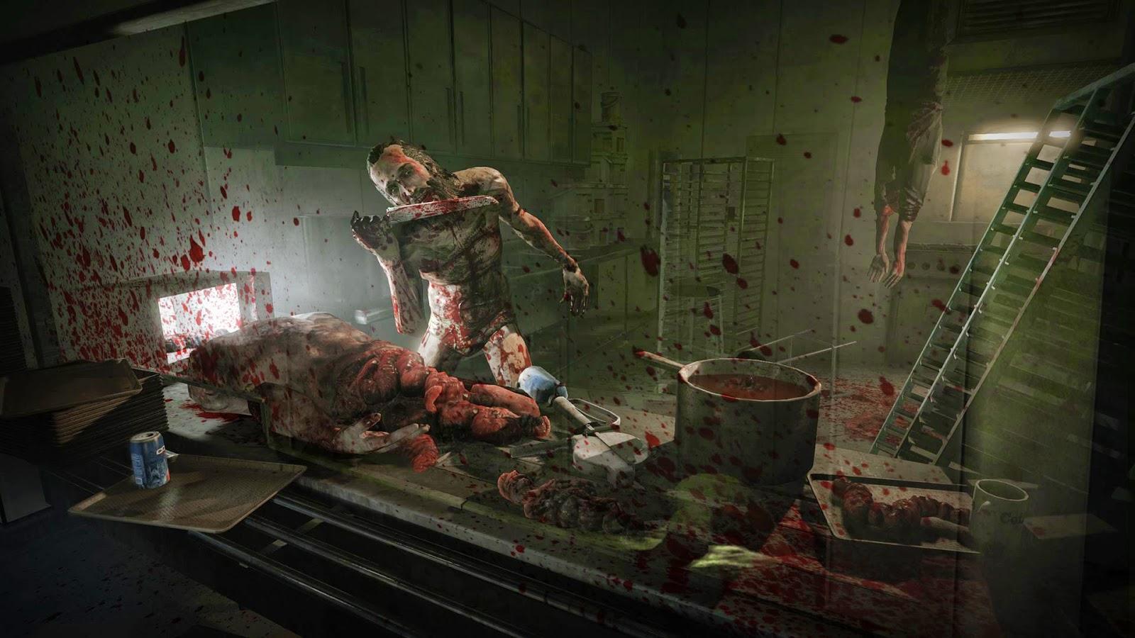 Outlast DLC Whistleblower Screenshot  cannibal
