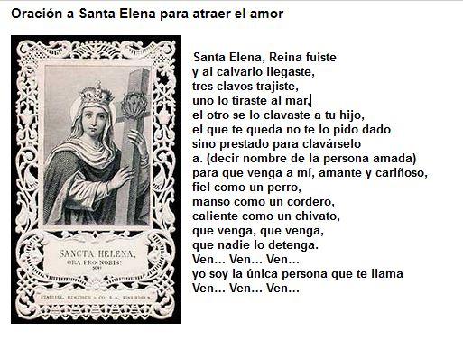 santa elena conjuro de amor
