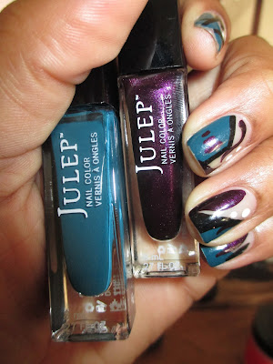 Julep November Maven Box, Donna, Trina