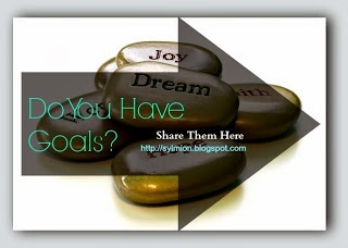 Do You Have a Goal Bloghop