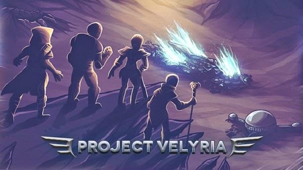 Colonize um novo planeta em Project: Velyria