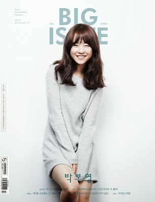 Park Bo Young - The Big Issue Magazine Vol. 76
