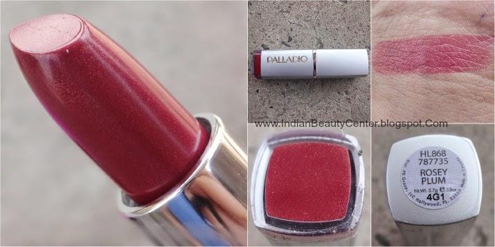 Palladio Lipstick Rosey Plum