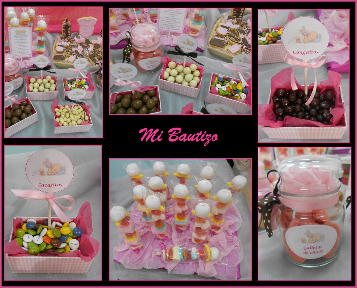 Fotos de mesa de dulces para bautizo imagui - Hacer mesa dulce bautizo ...