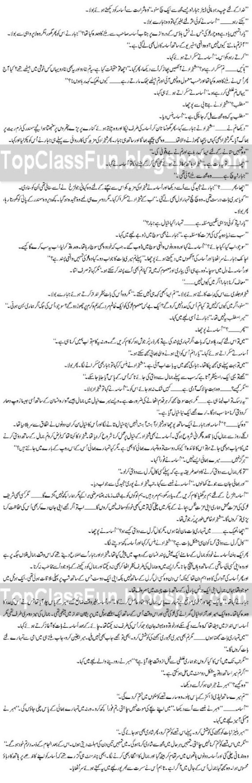 Romantic Urdu Novel - MOHABBAT – By Shahina Chanda Mehtab Page 9