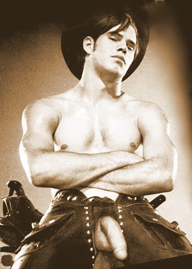 LONESOME COWBOYS : VINTAGE PHYSIQUE POSES : NUDE COWBOYS (adults Only)