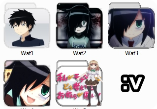 Watamote Folder Pack Icon