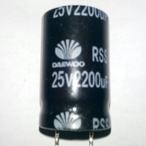 Kapasitor 2200uF 25V