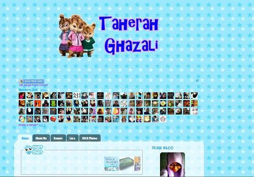 taherah ghazali,blog cute 2011,senarai blog comel,blog awek muda