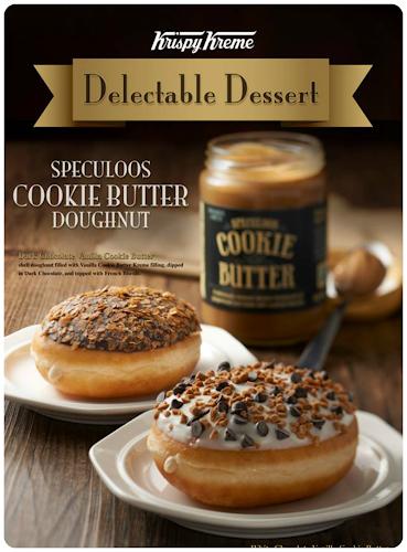 Krispy Kreme Delectable Desserts