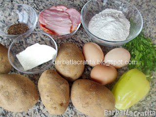 Rulada aperitiv din cartofi ingrediente reteta