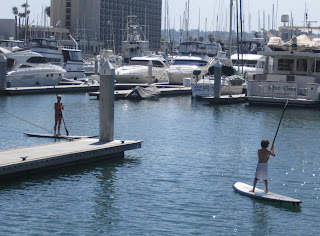 strictly sail long beach family paddleboarding