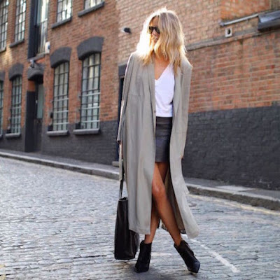 OUTFIT OF THE DAY: LONG COATS