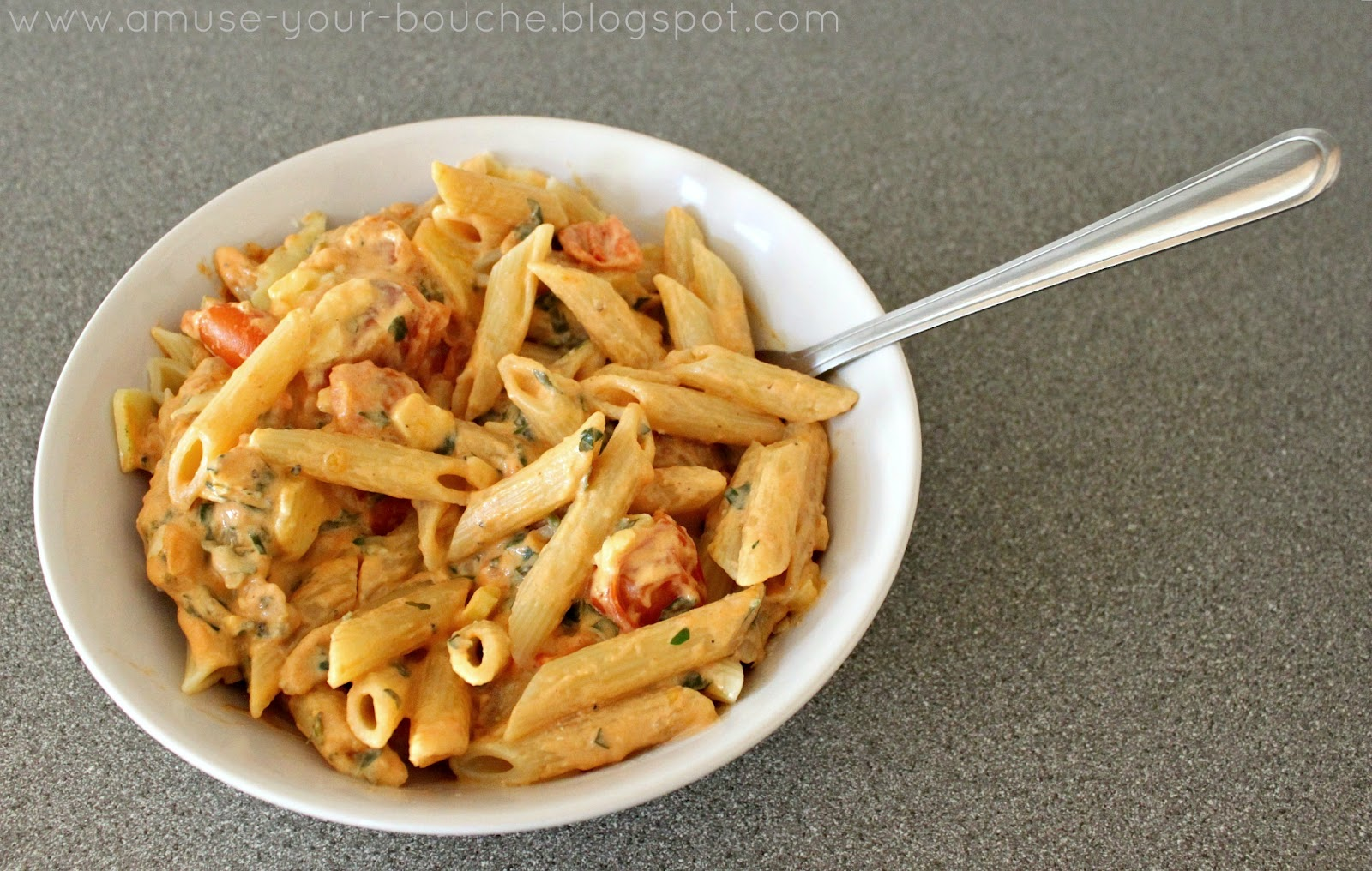 ... moved! For this recipe, please see here: tomato cream pasta sauce