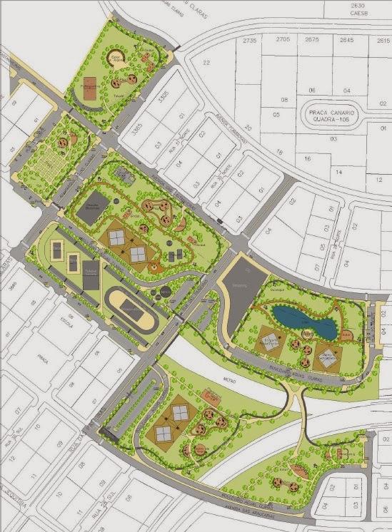 Plano de ocupação da Administração Regional - Original - Pré-concurso nacional de projetos