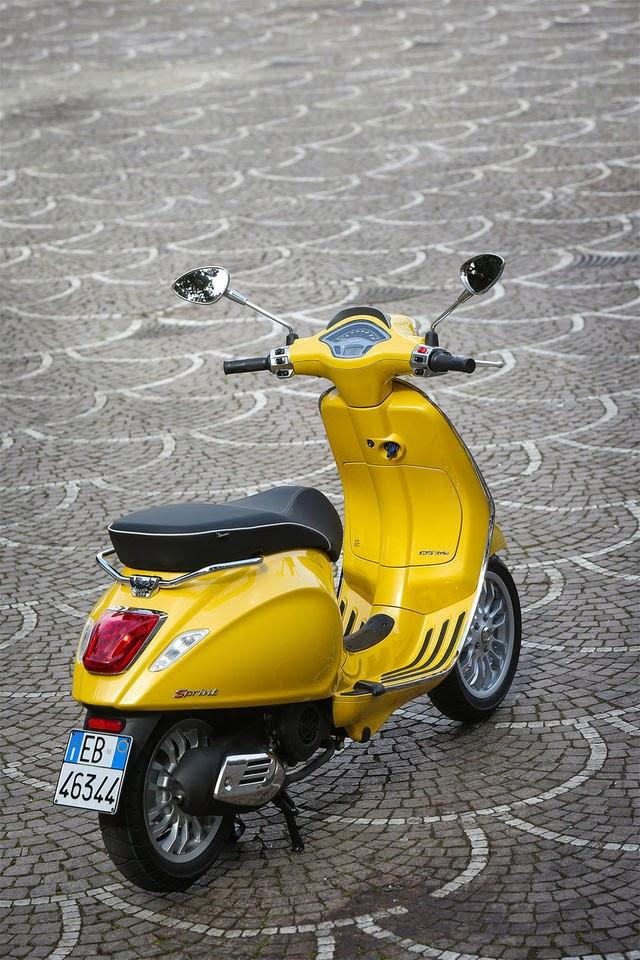 Vespa Sprint 2014 | Harga, Spesifikasi dan Foto HD Wallpaper