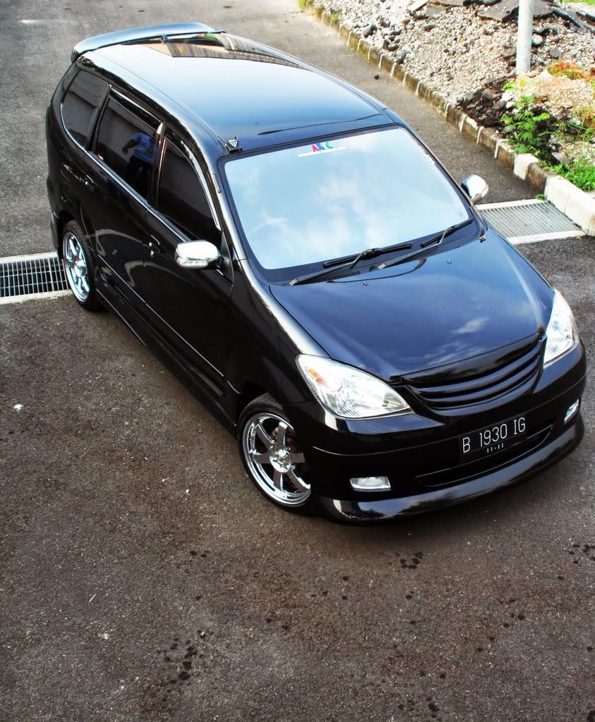 Modifikasi Mobil Avanza 2008