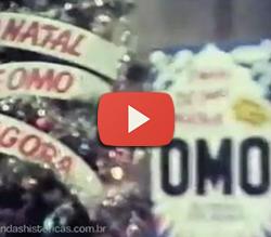 Propaganda do Natal OMO para os anos 70: ação promocional.