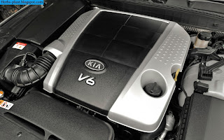 Kia quoris car 2013 engine - صور محرك سيارة كيا كوارتز 2013