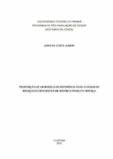 Exemplo de capa seguindo as normas ABNT.