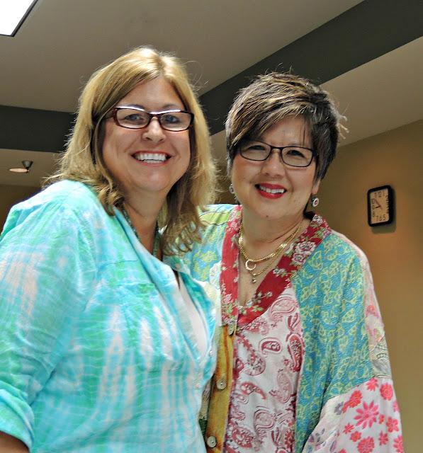 Sherri Stokey and Donna Kato