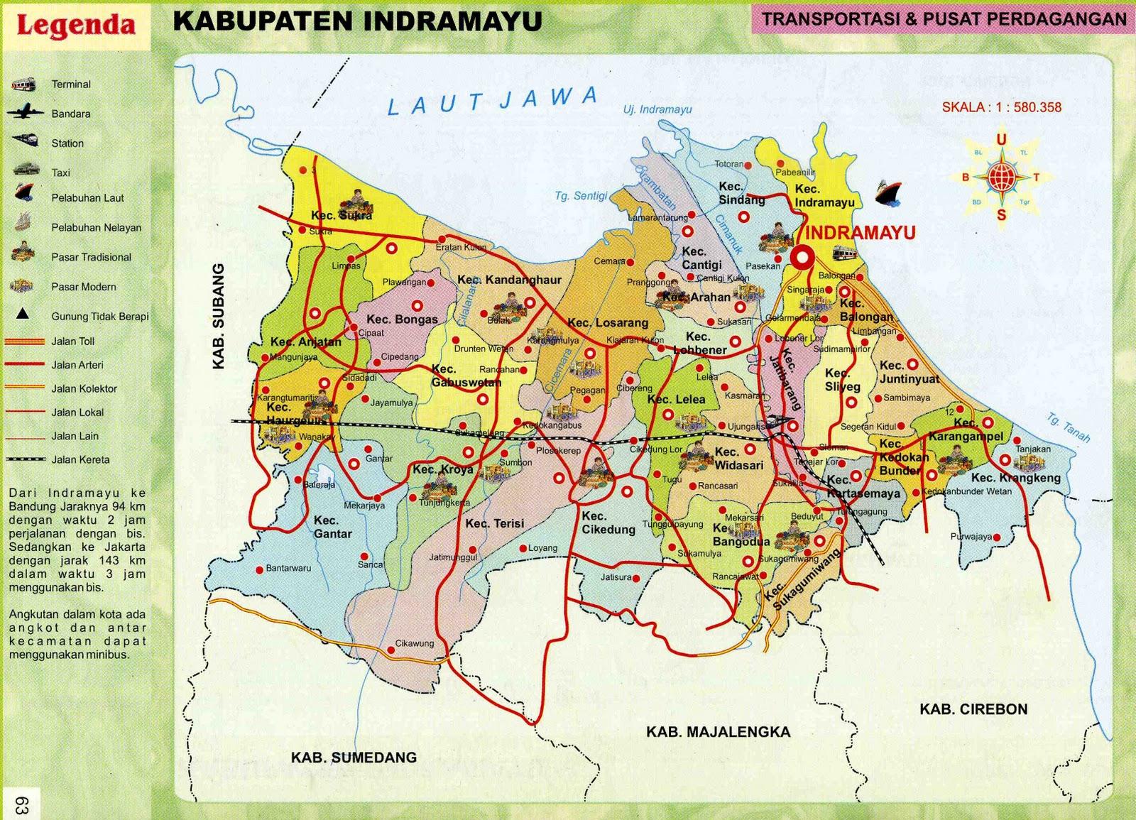 takjub indonesia peta kecamatan kecamatan di kabupaten