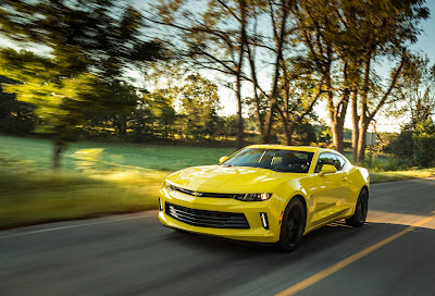 New 2016 Chevrolet Camaro Debuts in Lansing