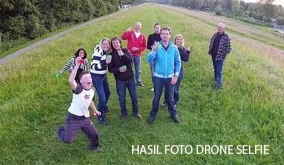 Hasil Foto Menggunakan Drone Selfie