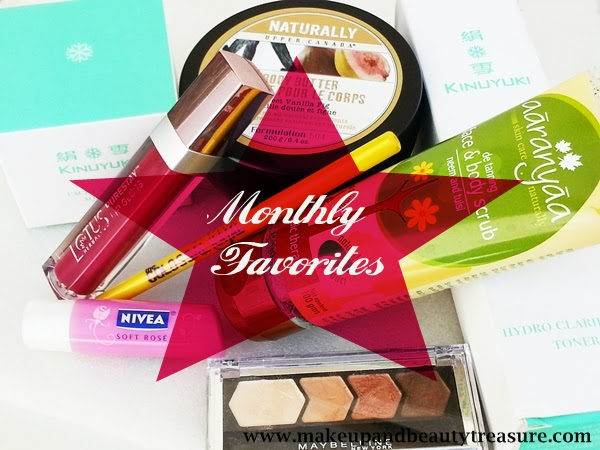monthly favorites beauty makeup