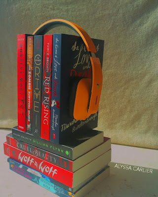 Book haul photography