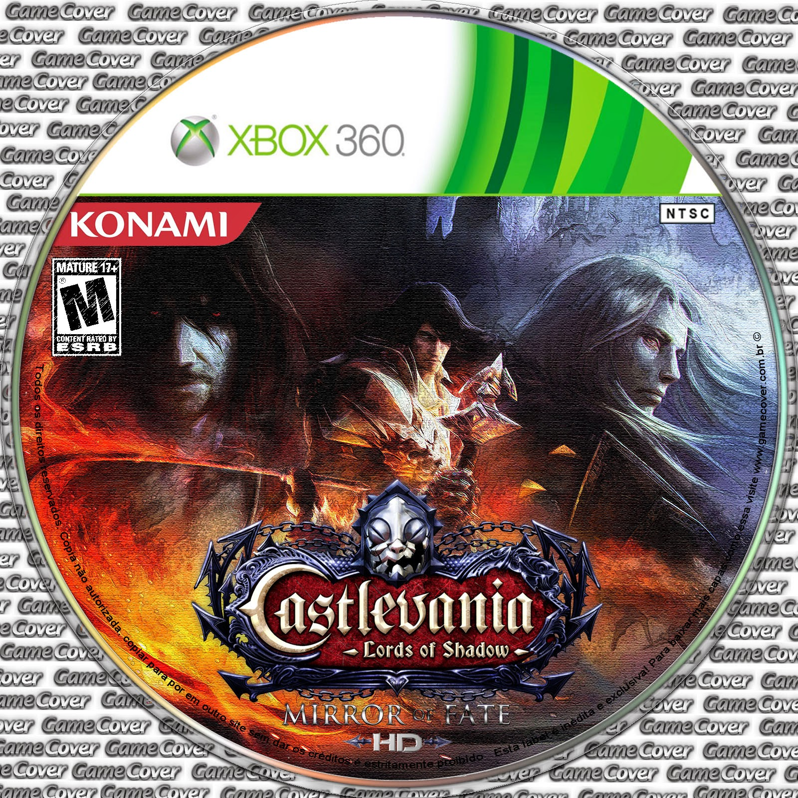 Label Castlevania Lords Of Shadow Mirror Of Fate HD Xbox 360 [Exclusiva]