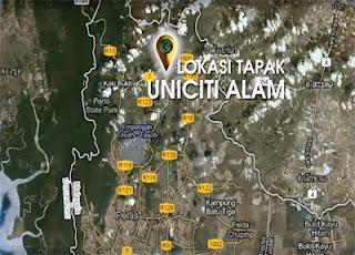 projek Uniciti Alam, UNIMAPs ,sungai chuchoh perlis