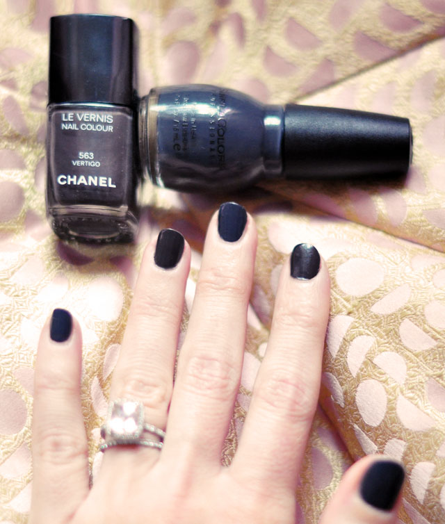 nail polish comparison, Chanel vs Sinful Colors
