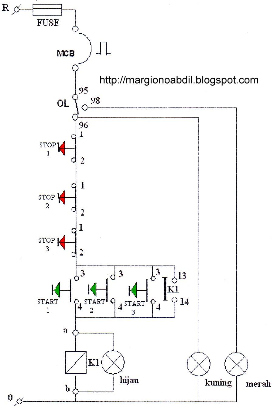 Bagirgiono abdil ber sebagai contoh di bawah ini akan disajikan diagram kontrol digaram utama dan diagram pengawatan instalasi motor induksi 3 fasa menggunakan kontaktor magnet ccuart Gallery