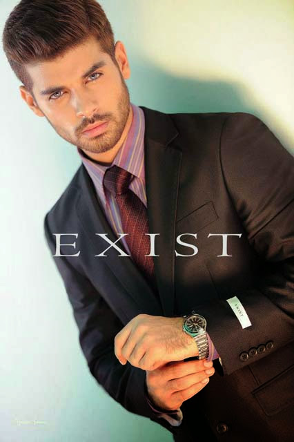 Latest Men's Suites 2013-2014 | Latest Men's Suites Pant Coat Winter Collection 2013-14 By Exist