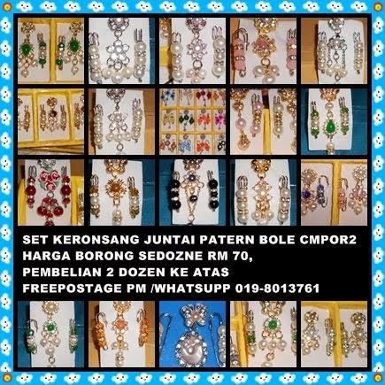 SET KERONSANG HARGA BORONG RM 70