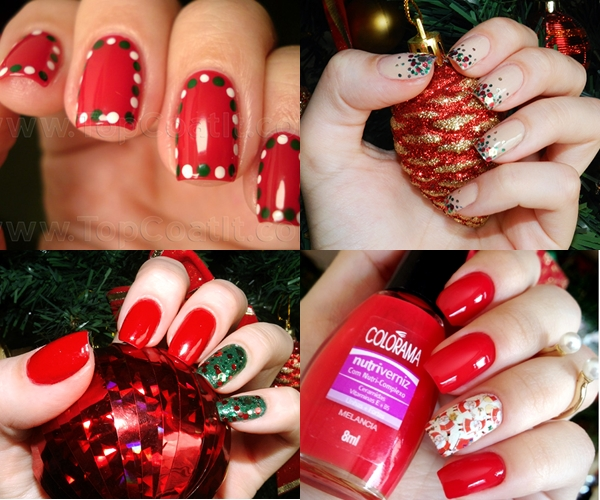 Para o Natal: Unhas Natalinas ♥