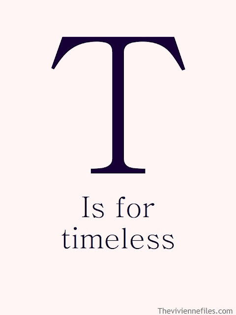 T is for Timeless poster