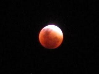 """Tant:El Eclipse de la """"Super Luna Roja"""""""