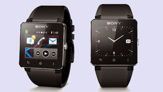 Sony SW2 Rubber Black Smartwatch