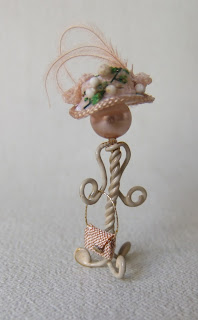 CDHM Artisan Janine Crocker of Miss Amelia's Miniatures