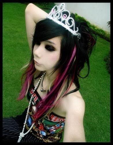 emo hairstyles for girls with short hair. teen emo hairstyles. black emo