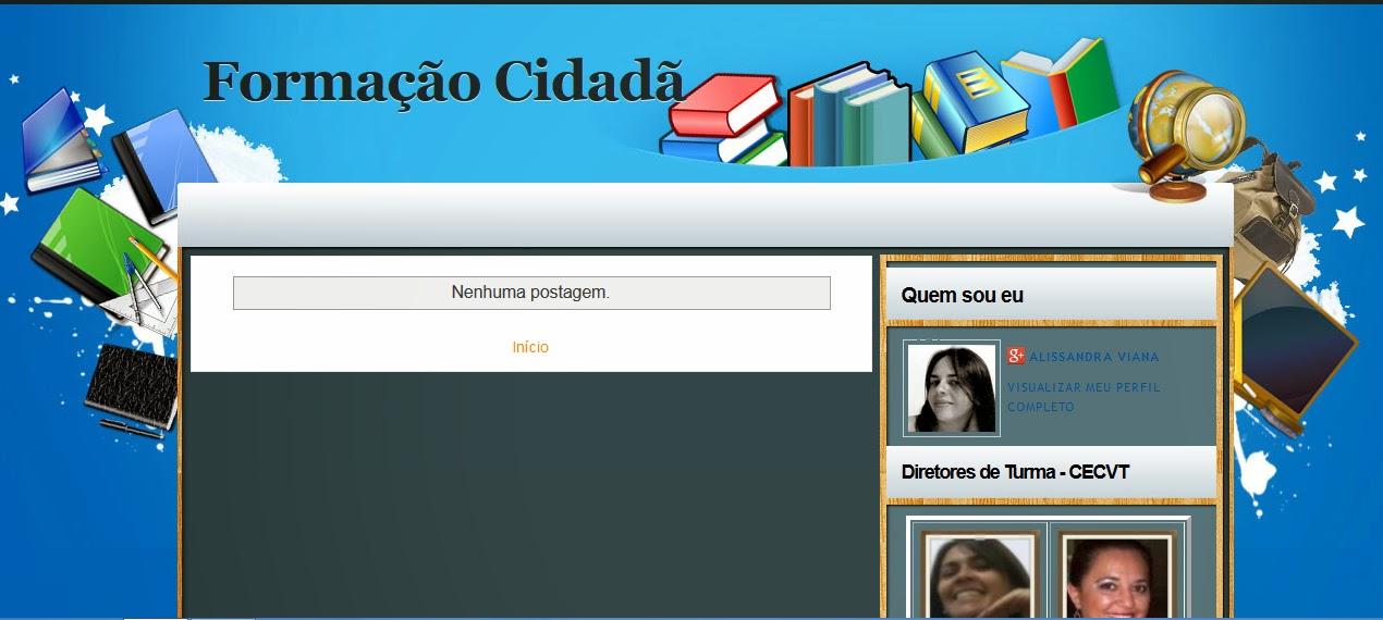 FORMAÇÃO CIDADÃ