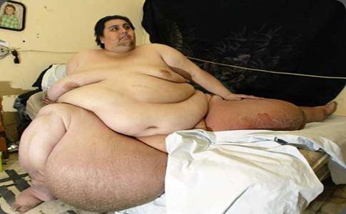 el hombre mas gordo de el mundo: