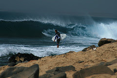 Cabo Verde Surfing /january 2012